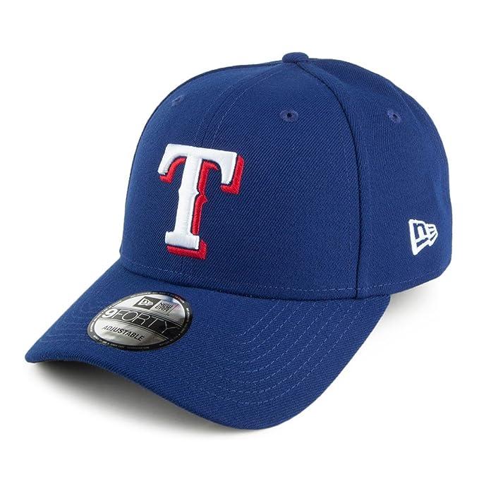 1d8de199877a1 Gorra de béisbol 9FORTY League Texas Rangers de New Era - Azul - Ajustable   Amazon.es  Ropa y accesorios