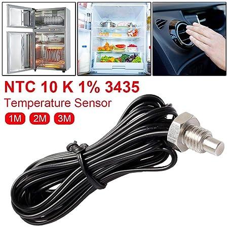 libelyef Sensor De Temperatura Acero Inoxidable NTC Termómetro De ...