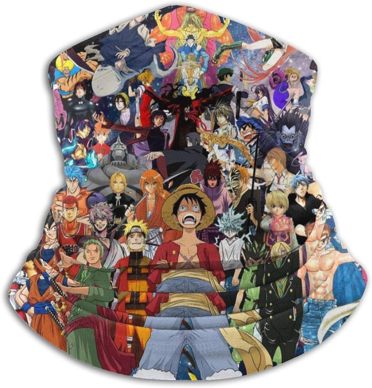 Anime Mania One Piece Unisex Halstuch Schlauchschal,Staubschutz Gesichtsmaske Outdoor Halsw/ärmer Skimaske Atmungsaktiv Mund-Tuch Sport Motorrad Fahrrad Joggen Face Shield UV-Schutz