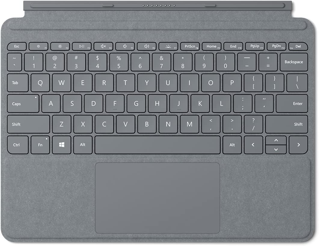 Microsoft Surface Go Signature Type Cover (Platinum) - KCS-00001