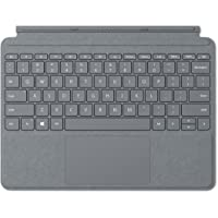 Microsoft Surface Go Type Cover Funda de protección Negro, Platinum Type Cover, Platino