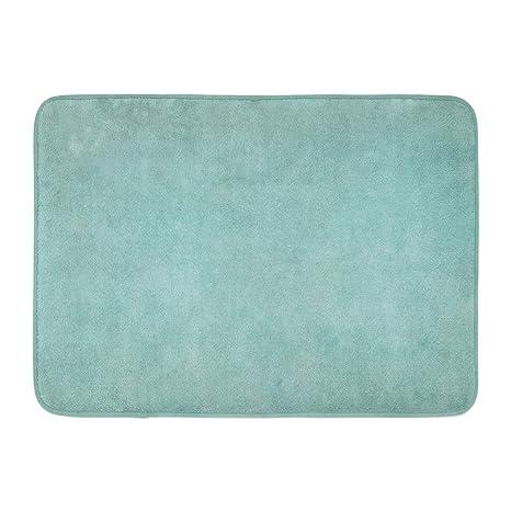 Amazon Com Emvency Bath Mat Seafoam Green Foam Teal Aqua