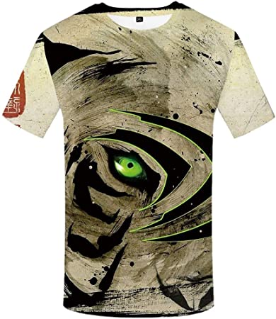 QIANZHIHE Camiseta Camiseta Camisa Negra Camiseta Blanca ...
