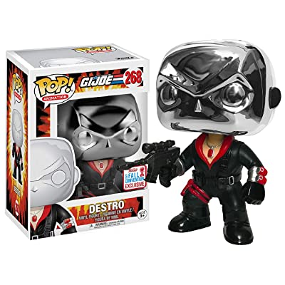 Funko POP! Animation: G.I.JOE - Destro | 2020 NYCC Fall Convention Exclusive # 268: Toys & Games