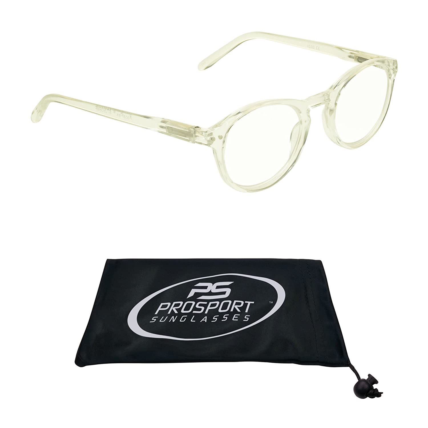 c21ab7e5375 Amazon.com  Oval Multifocal Progressive Computer Reading Glasses. Single  Pair or 2 Pairs Combo.  Health   Personal Care