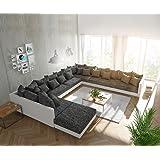 Sofa Dreams Wohnlandschaft Nassau U Form Led Amazon De Kuche