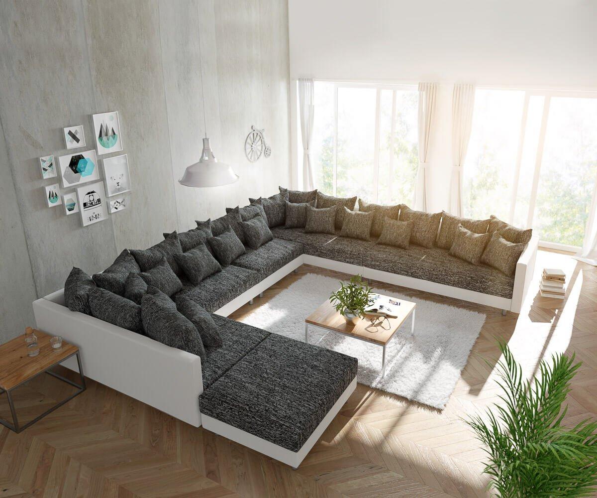 DELIFE Couch Clovis modular - XXL Sofa