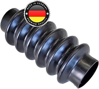 Ws System 2x Universal Faltenbalg Aus Gummi 2 Stk Flexible Dehnbare Achsmanschette Made In Germany Aus Hochwertigem Pvc Schelle In Größe L 90mm 220mm Ø 56mm Auto