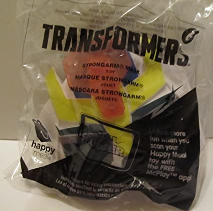 Transformers Strong Arm Mask #6 McDonalds 2017