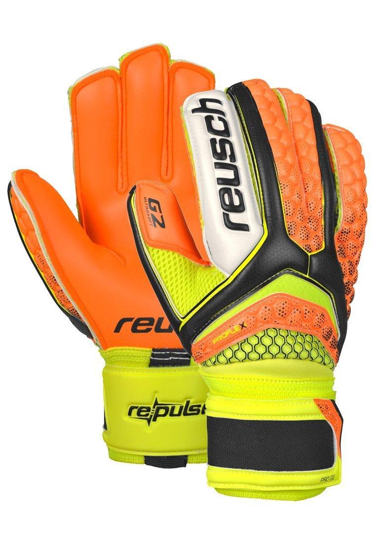 reusch(ロイシュ) リパルス プロ G2 (3670906-767) B018G8IMN4(767)ブラック/Sオレンジ 9