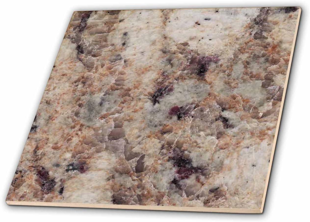 3dRose ct/_97956/_4 Juperana Crema Bordeaux Granite Print-Ceramic Tile 12-Inch