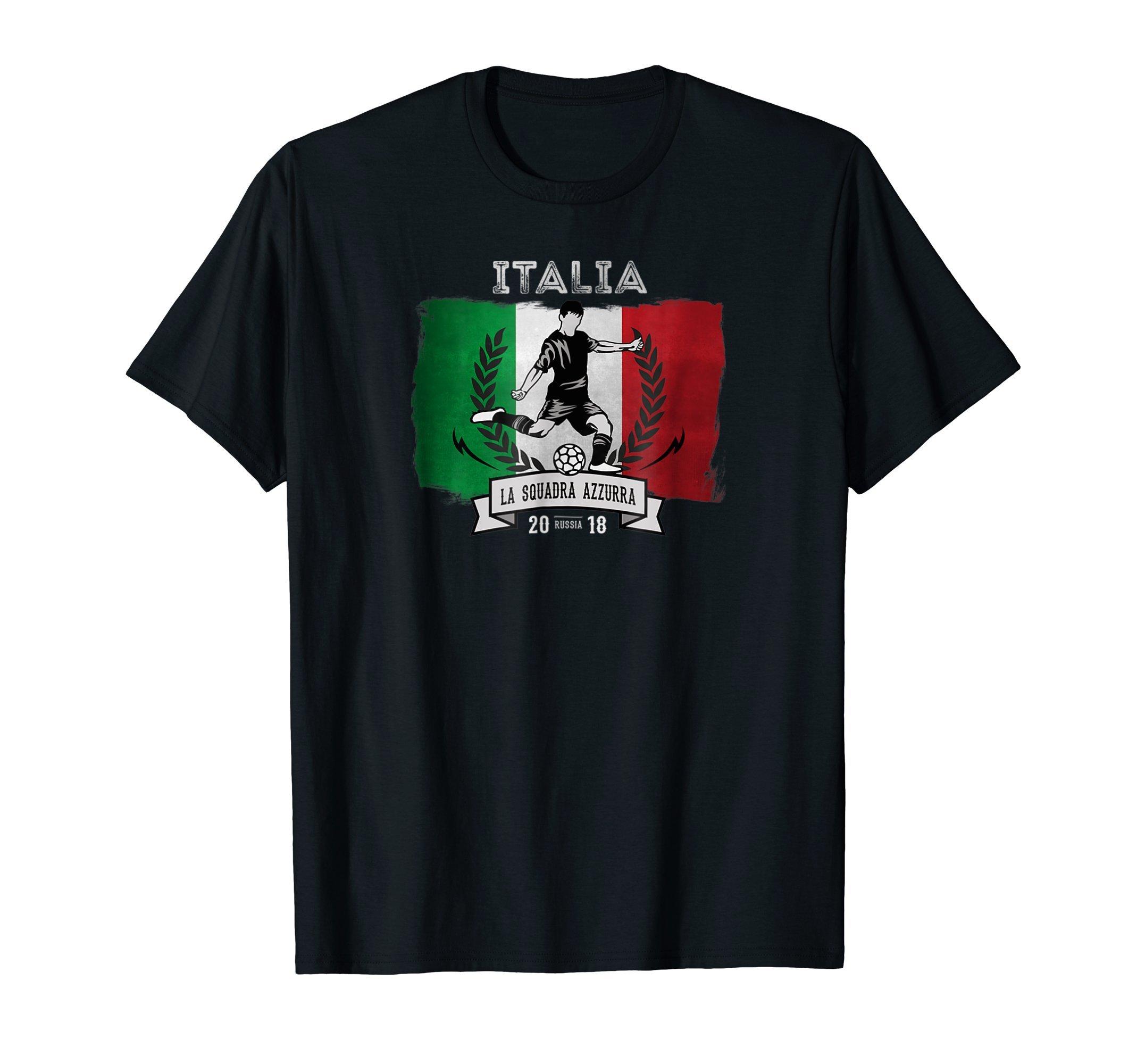 Italy Soccer Team Russia 2018 Italian Football Fan TShirt