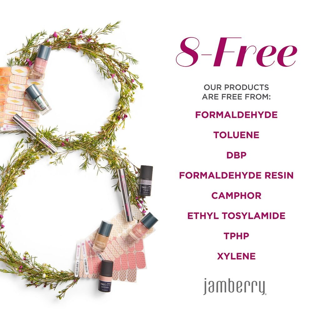 White & Pink Tint Tip (Long) - Half Sheet - Jamberry Nail Wraps - French Manicure by Jamberry