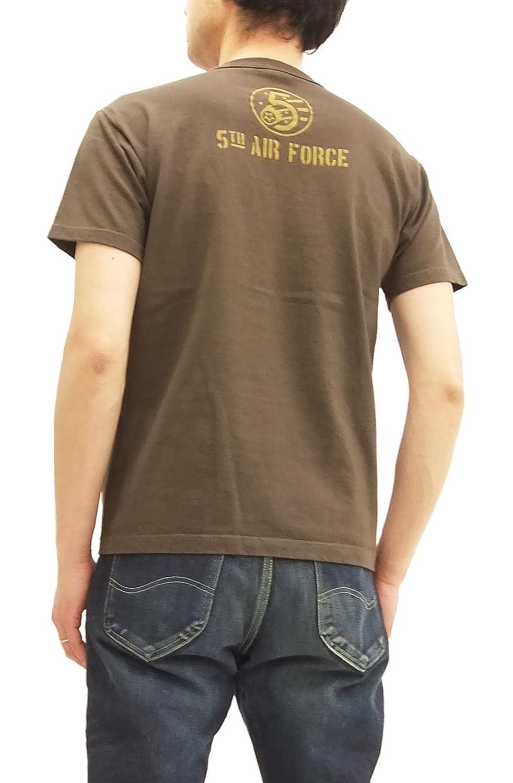 TOYS McCOY Mens Short Sleeve T-Shirt Aircraft Nose Art Military Tee TMC1822