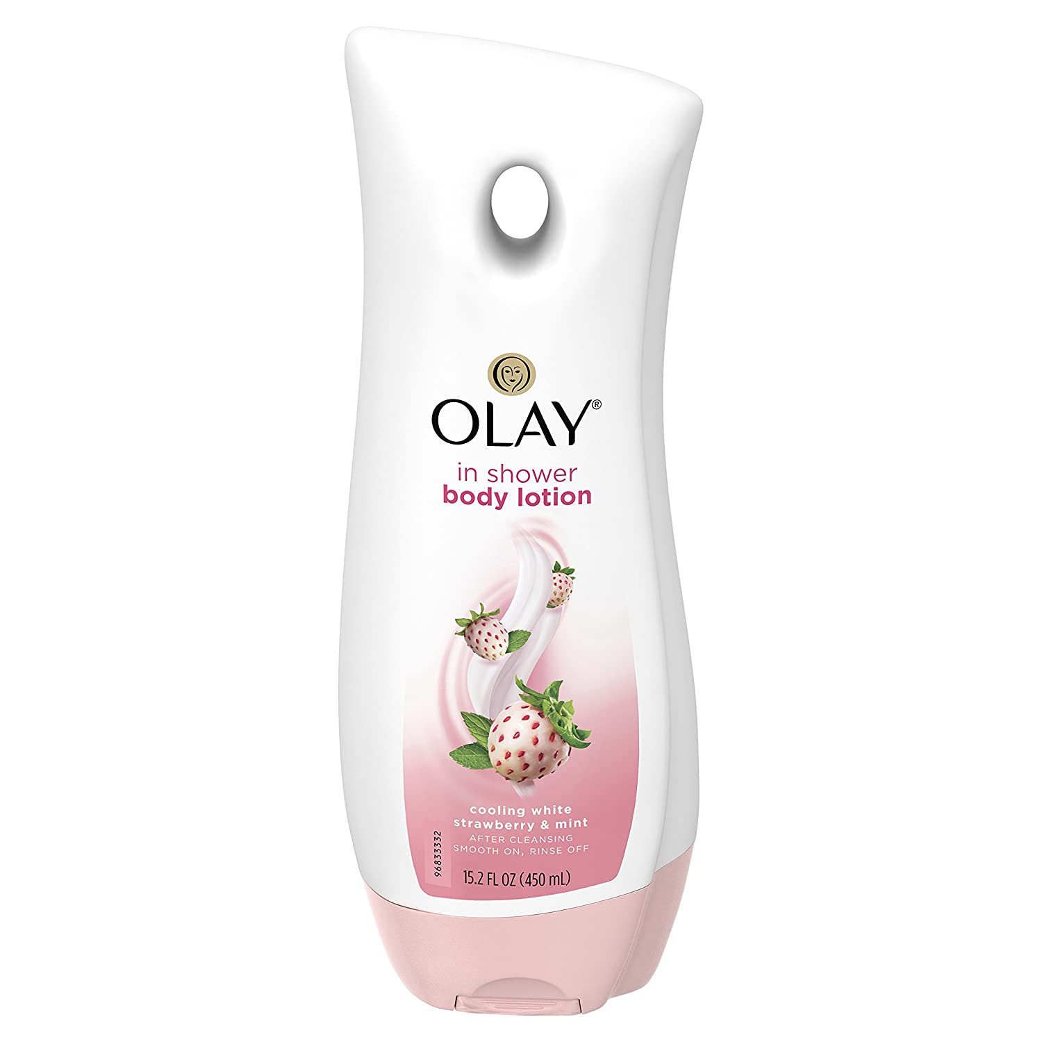 Olay Quench Cooling White Strawberry & Mint Body Lotion, 20.2 fl oz (Packaging May Vary)