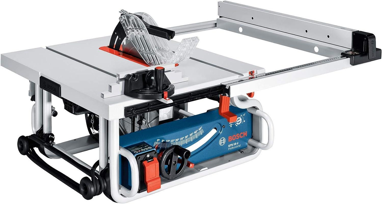 Bosch Professional Scie Sur Table Gts 10 Jre 1 800w O De La Lame