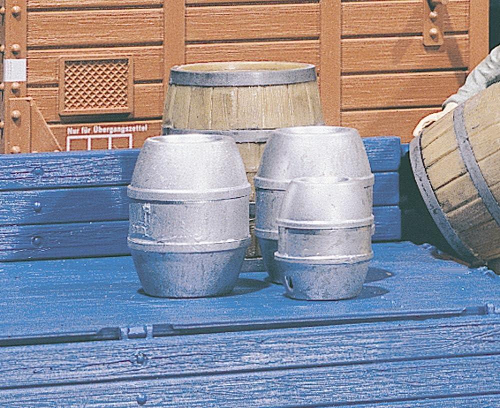 POLA 333202–4Cerveza barriles, Accesorios para el diseño de ferrocarril, Modelo