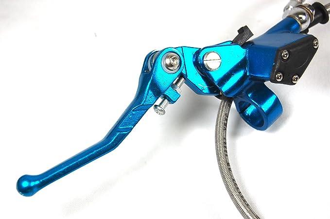 1E Palanca de embrague hidráulico Master Cilindro Dirt Bike SDG SSR 107 110 125 azul lv08: Amazon.es: Coche y moto