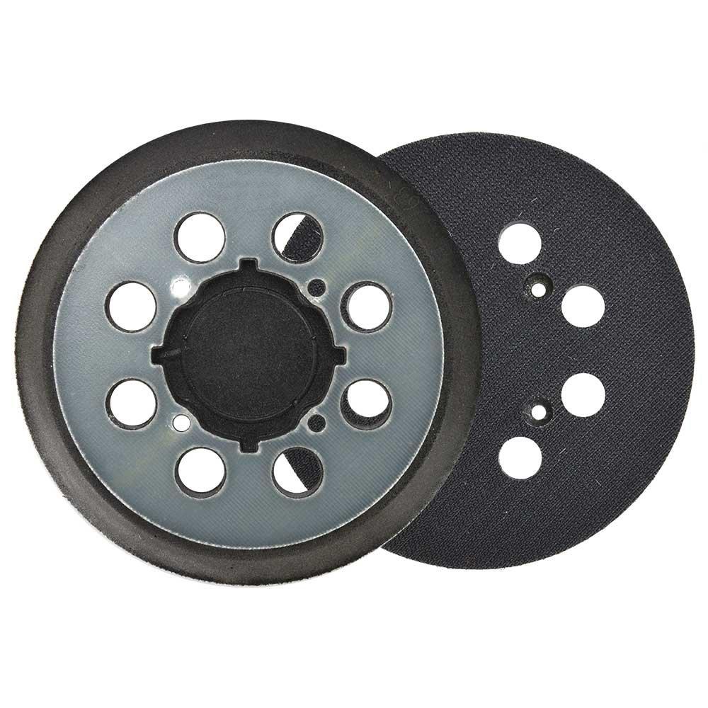 """Superior Pads and Abrasives RSP54 Aftermarket 5"""" Dia 8 Vacuum Holes Hook & Loop Sanding Pad Replaces Dewalt N329079"""