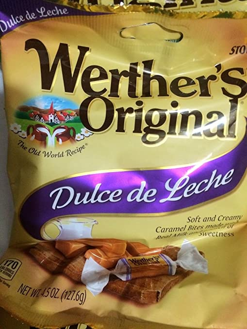 Amazon.com : Werthers Original Soft, Chewy, Apple, Coffee, Dulce de Leche Caramels 5pc : Grocery & Gourmet Food