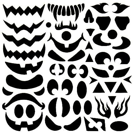 pumpkin face pattern