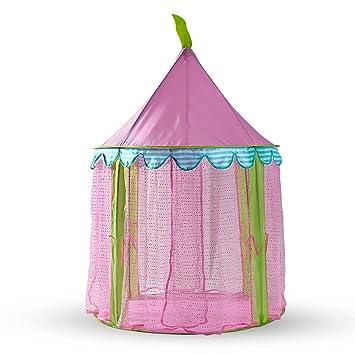 Zelte Kinderzelt Babyzelt Spielhaus Spielzelt Prinzessin Bällebad Spielhöhle Rosa TOP