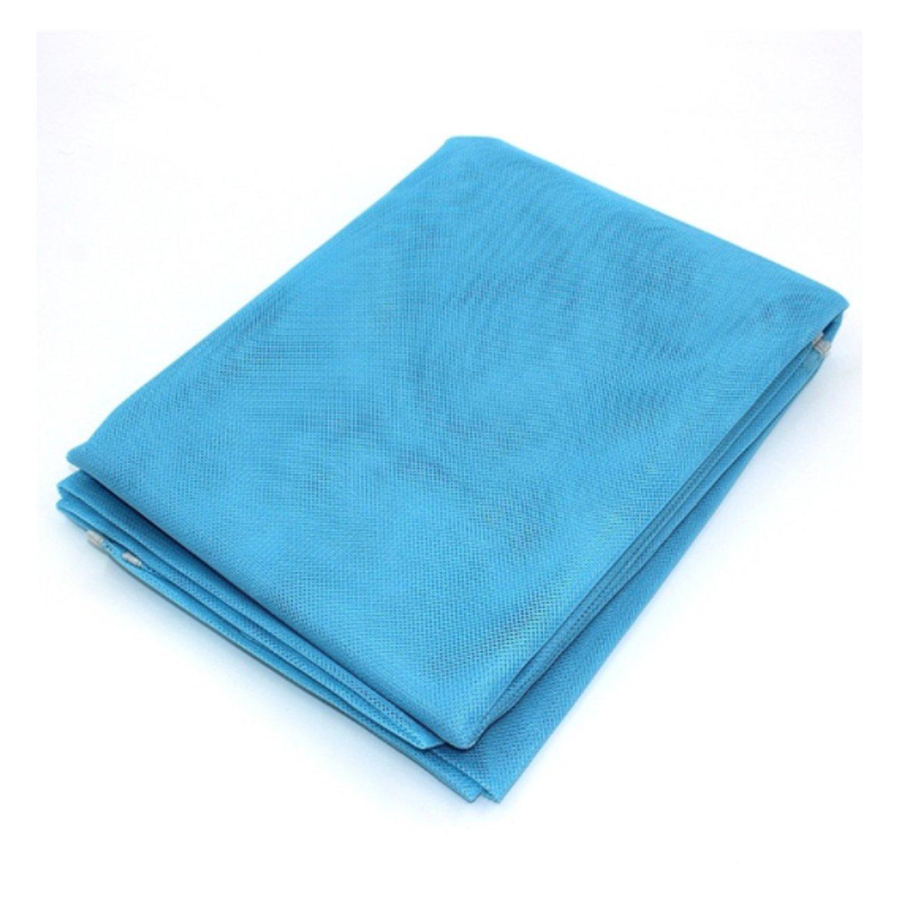 XD Panda Esterilla de Playa con Efecto Anti Arena (Azul)