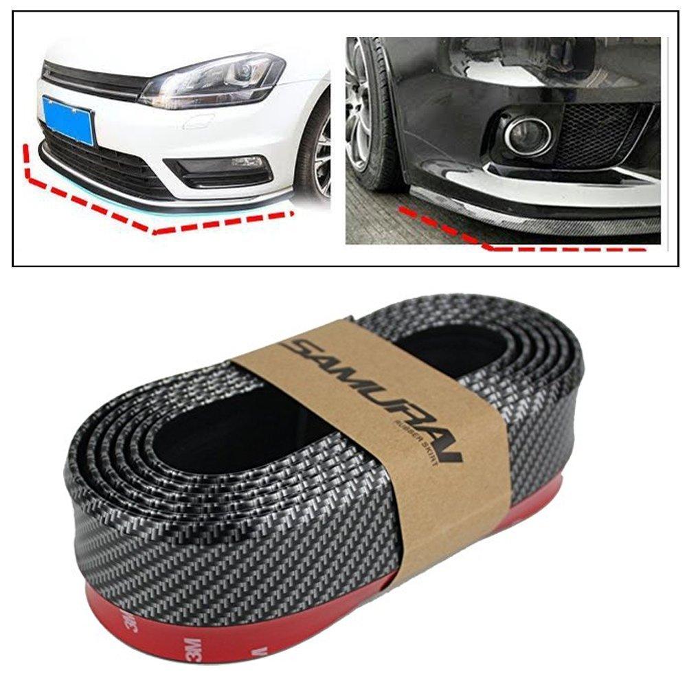 Car Body Kits >> 3a Featuretail Samurai Carbon Fiber Car Body Kit Bumper Lip Side Skirt Rubber Edge Decorative Protector