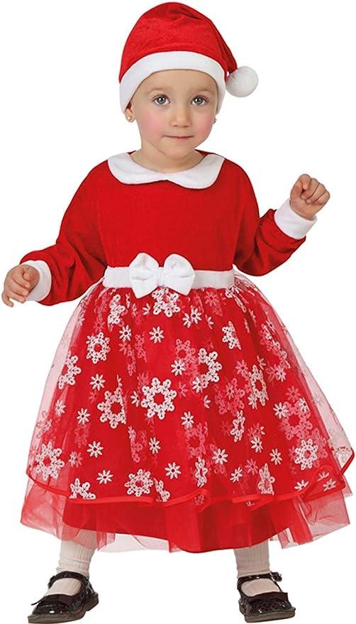 Atosa-26784 Disfraz Mamá Noel Niña Bebé-T, Color Rojo, 0 a 6 Meses ...