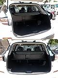 Vesul Black Tonneau Cover Rear Trunk Cargo Luggage