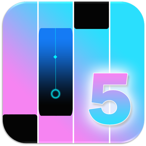 Blue Piano Magic Tiles 5 ()