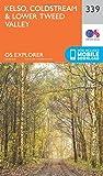 Ordnance Survey Explorer 339 Kelso, Coldstream & Lower Tweed Valley Map With Digital Version