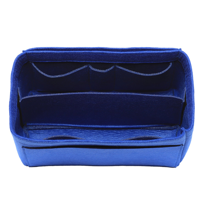 [New Style] Felt Insert Bag Organizer Purse Organizer, Handbag Bag in Bag for Speedy Neverful Longchamp, 3 Sizes