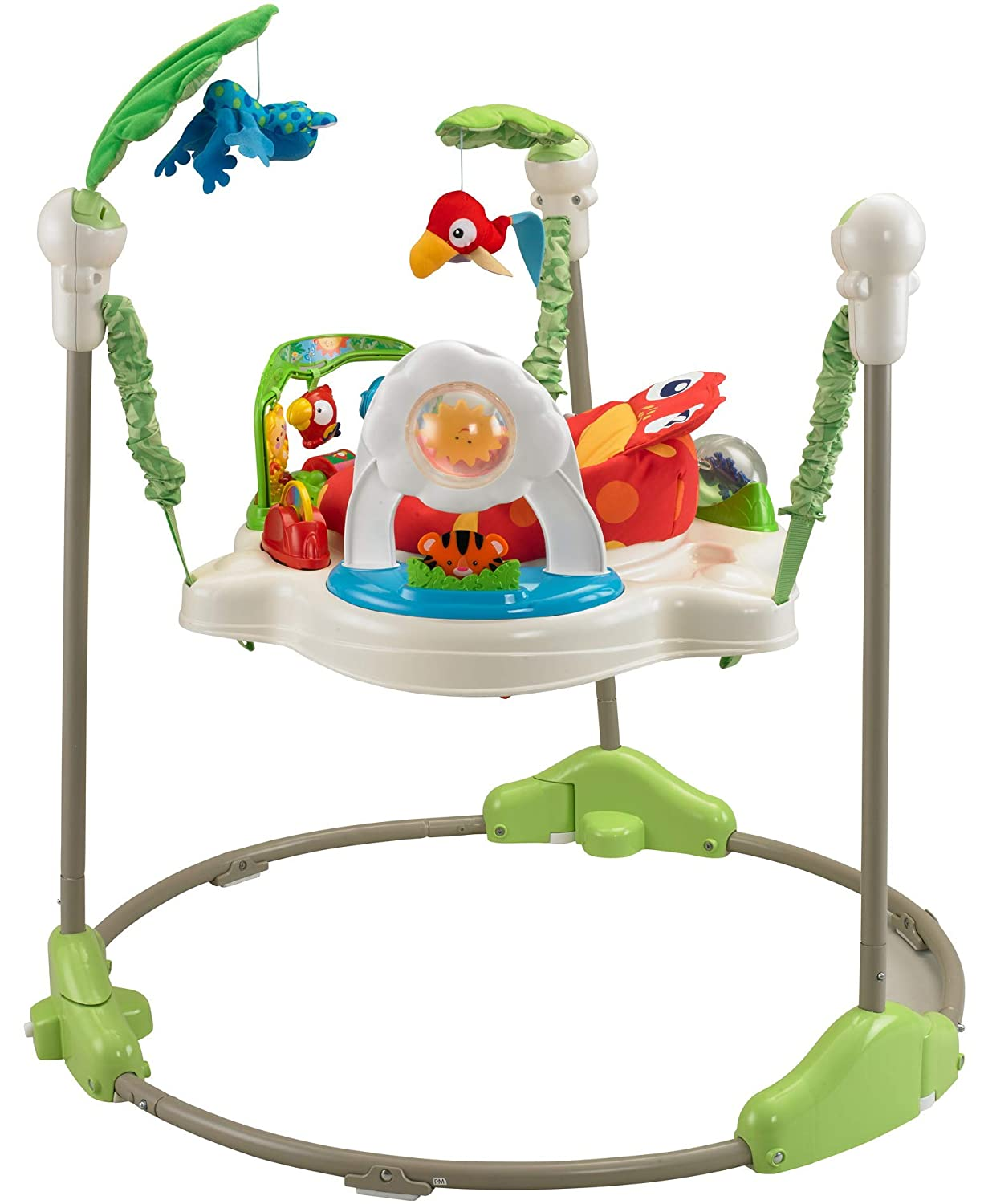Fisher-Price Rainforest Jumperoo – Our Top Pick