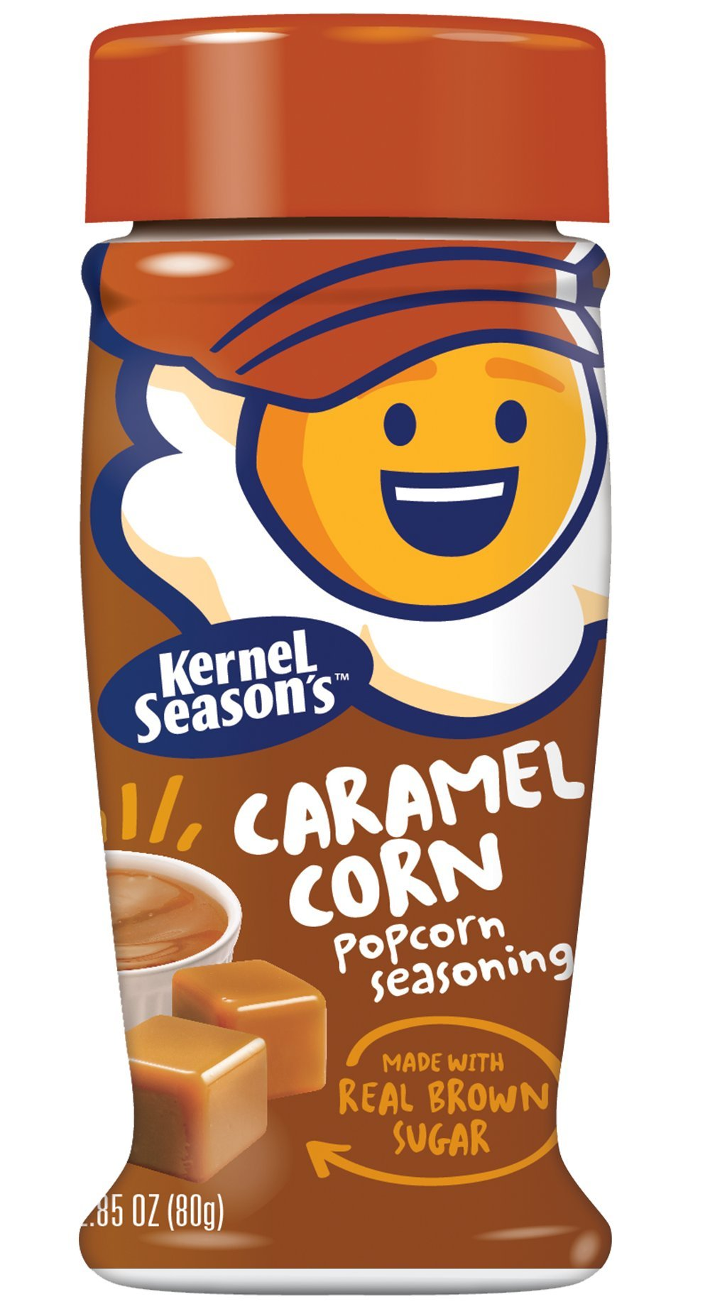 Kernel Season's Popcorn Seasoning, Caramel, 3 ounce (Pack of 6)