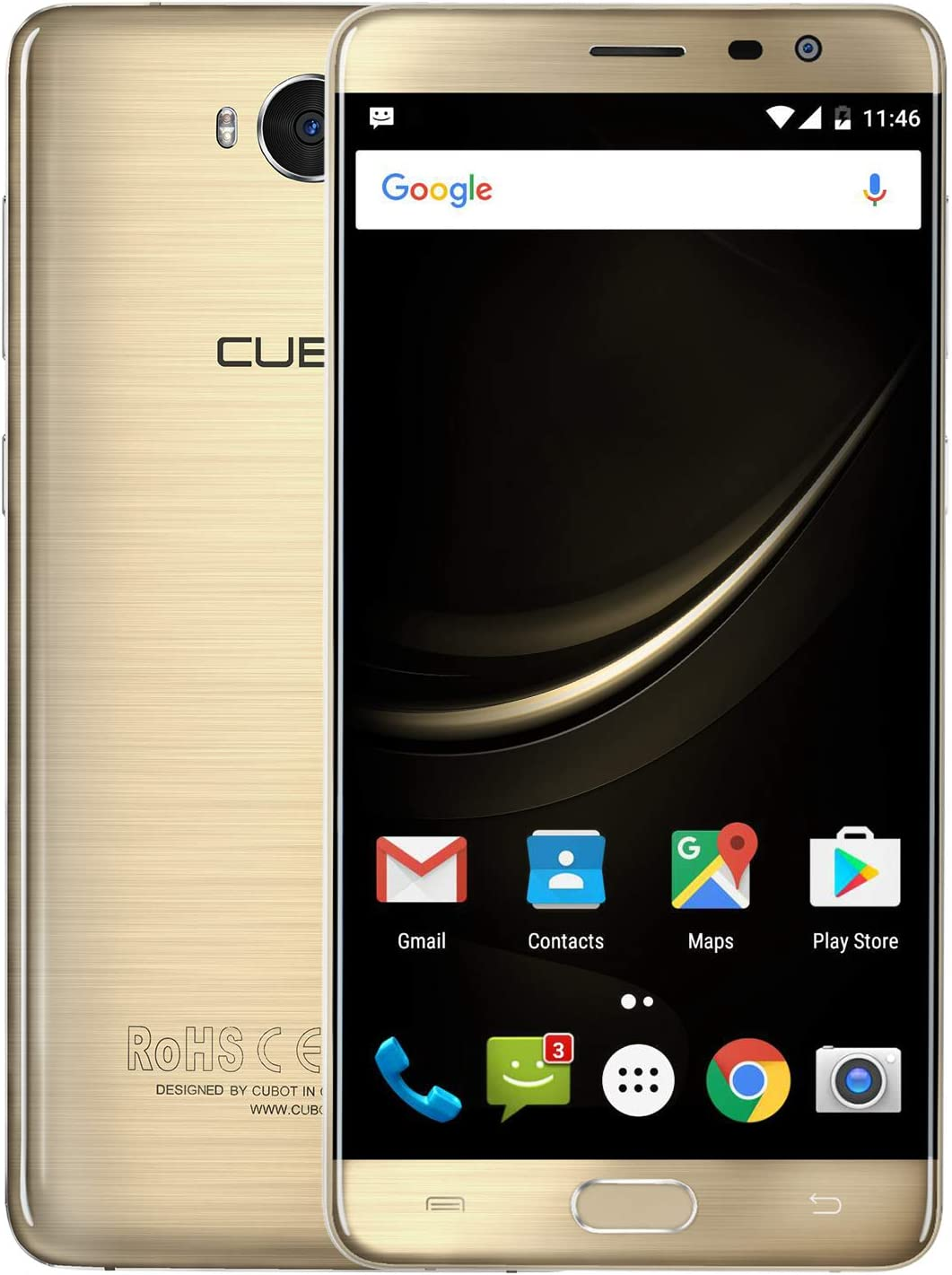 CUBOT A5 Octa-Core Smartphone Libre 4G Android 8.0 3GB RAM+ 32GB ...