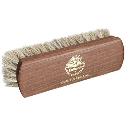 Light Horsehair Leather Brush Polishes & Cleans Shoes, Clothes & Handbags. (6½ in.): Automotive
