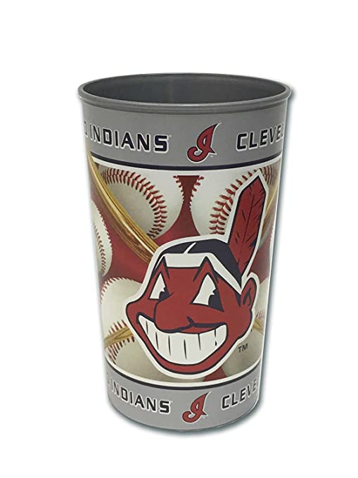 check out 60373 0ed32 Brax MLB Cleveland Indians Cup, 32-Ounce