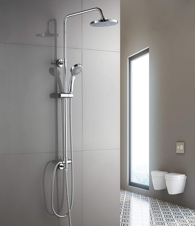 Aurho columna de ducha conjunto de ducha set de ducha Sistema de ...