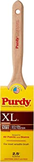product image for Purdy 144100325 XL Series Elasco Flat Trim Paint Brush, 2-1/2 inch