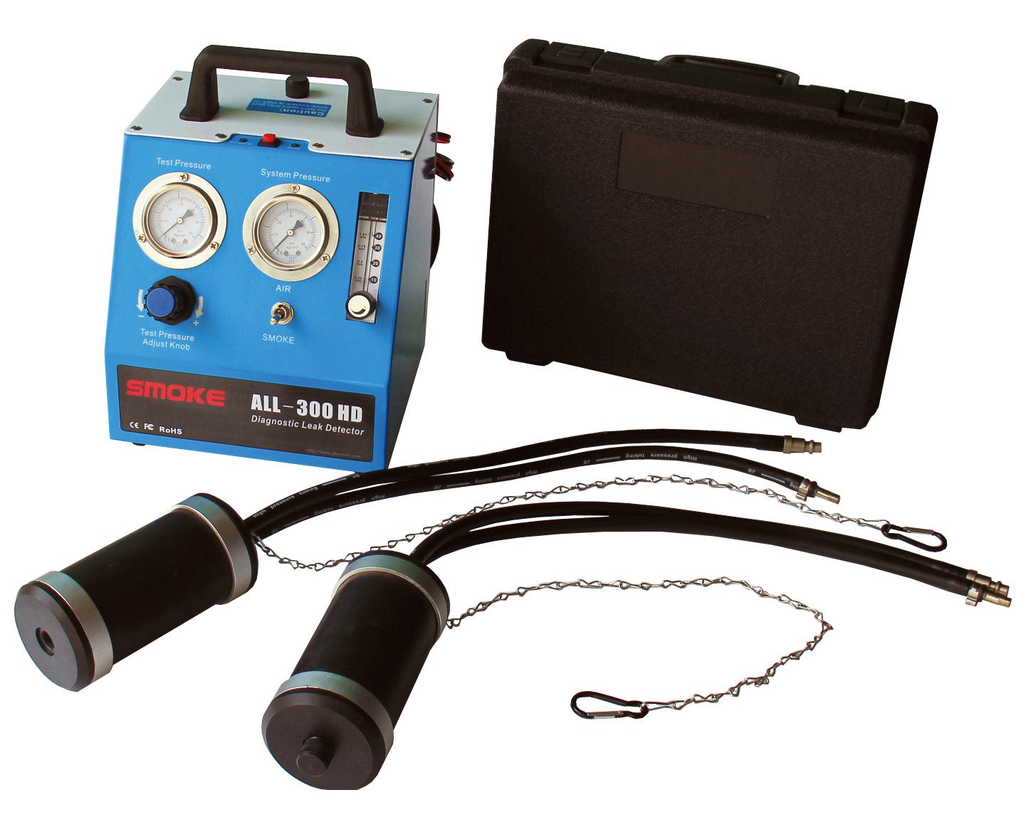 ALL-300 HD Diagnostic Leak Detector for Car/Heavy Duty Automotive Smoke Leak Locator (Heavy Duty)