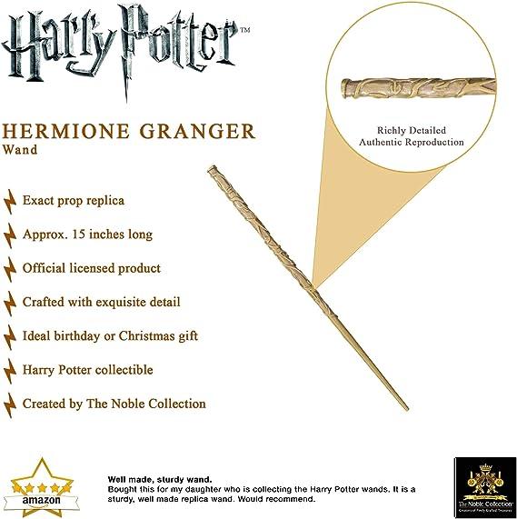 The Noble Collection Hermione Granger Varita (Caja de Ventana)