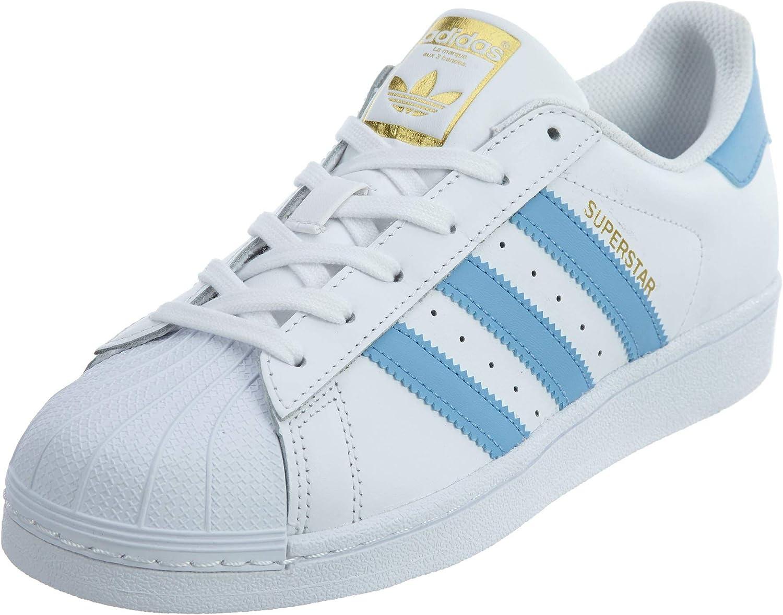 adidas superstar blue white