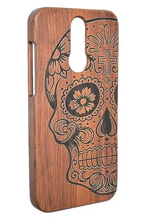 PhantomSky Huawei Mate 10 Lite Funda de Madera, [Serie de Lujo] Natural Hecha a Mano de Bambú/Madera Carcasa Case Cover para tu Huawei Mate 10 Lite - ...
