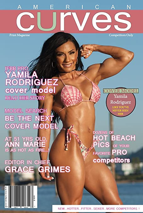 American Curves Magazine 2nd issue [paperback] Advertising Media and Publishing [April 01,