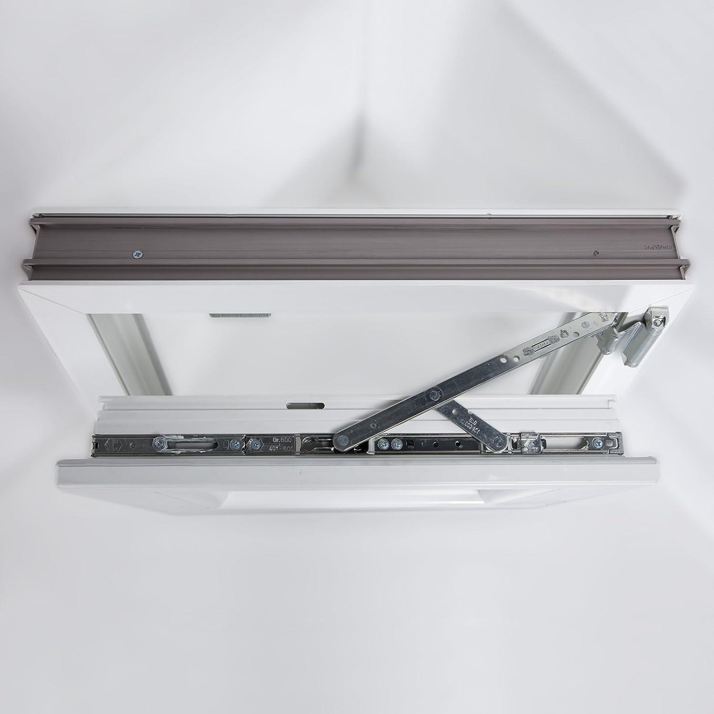 Fenster 750 x 1000 mm DIN Links Ideal 4000 Classicline aus Mehrkammer-Kunststoffprofilen B x H