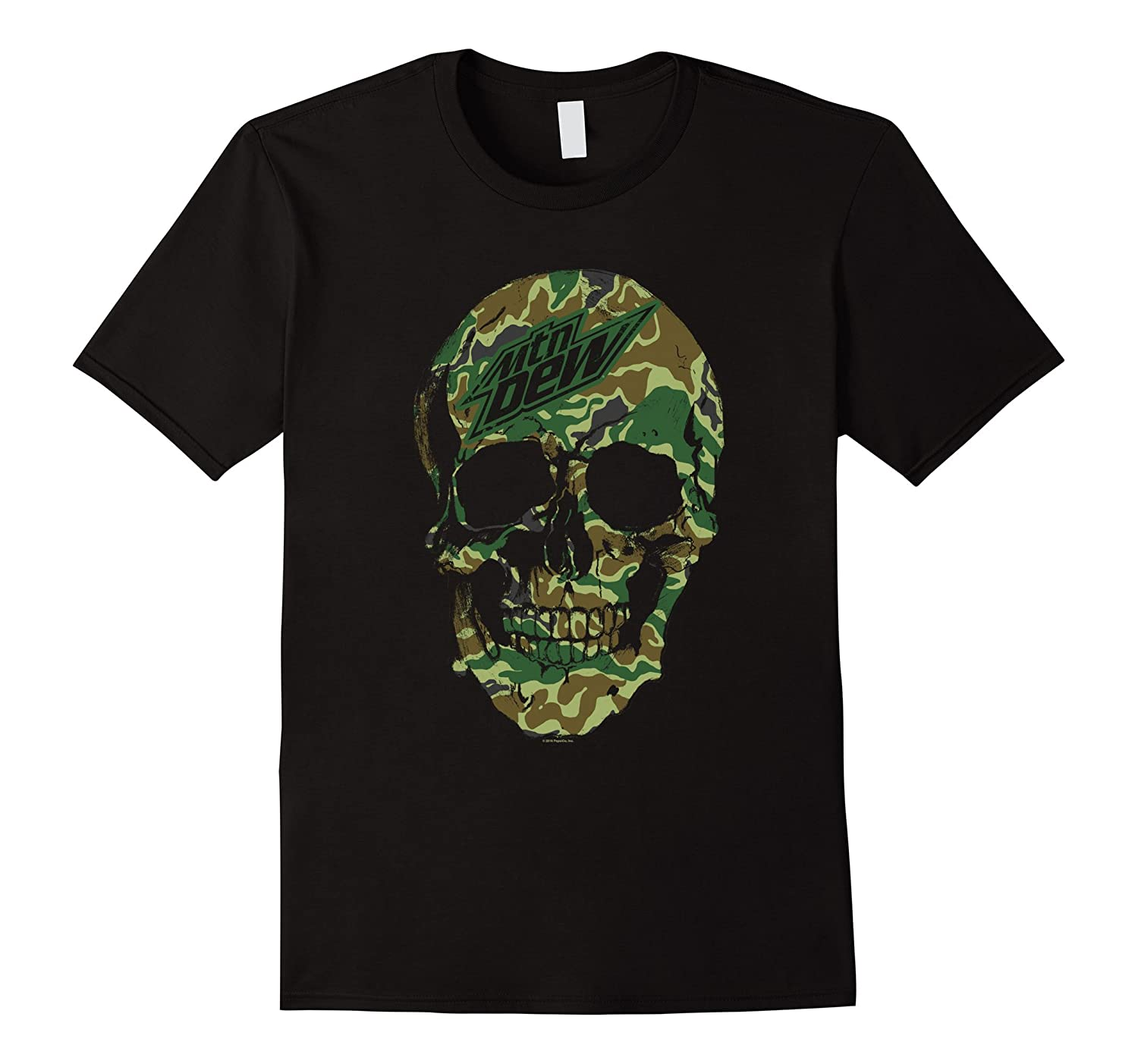 Mountain Dew Skull T-Shirt   Soft Touch style # 28515-CL