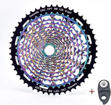 BIKECO MTB 11/12 Speed Cassette 9-50T - Piñón para Bicicleta de ...