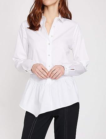 4b109b3659d93 Koton Kadın Gömlek Beyaz 000, (Üretici Ölçüsü: ...