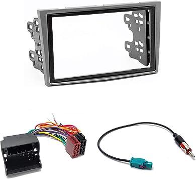 UGAR 11-090 Kit Fascia + Arnés ISO + Adaptador de Antena ...